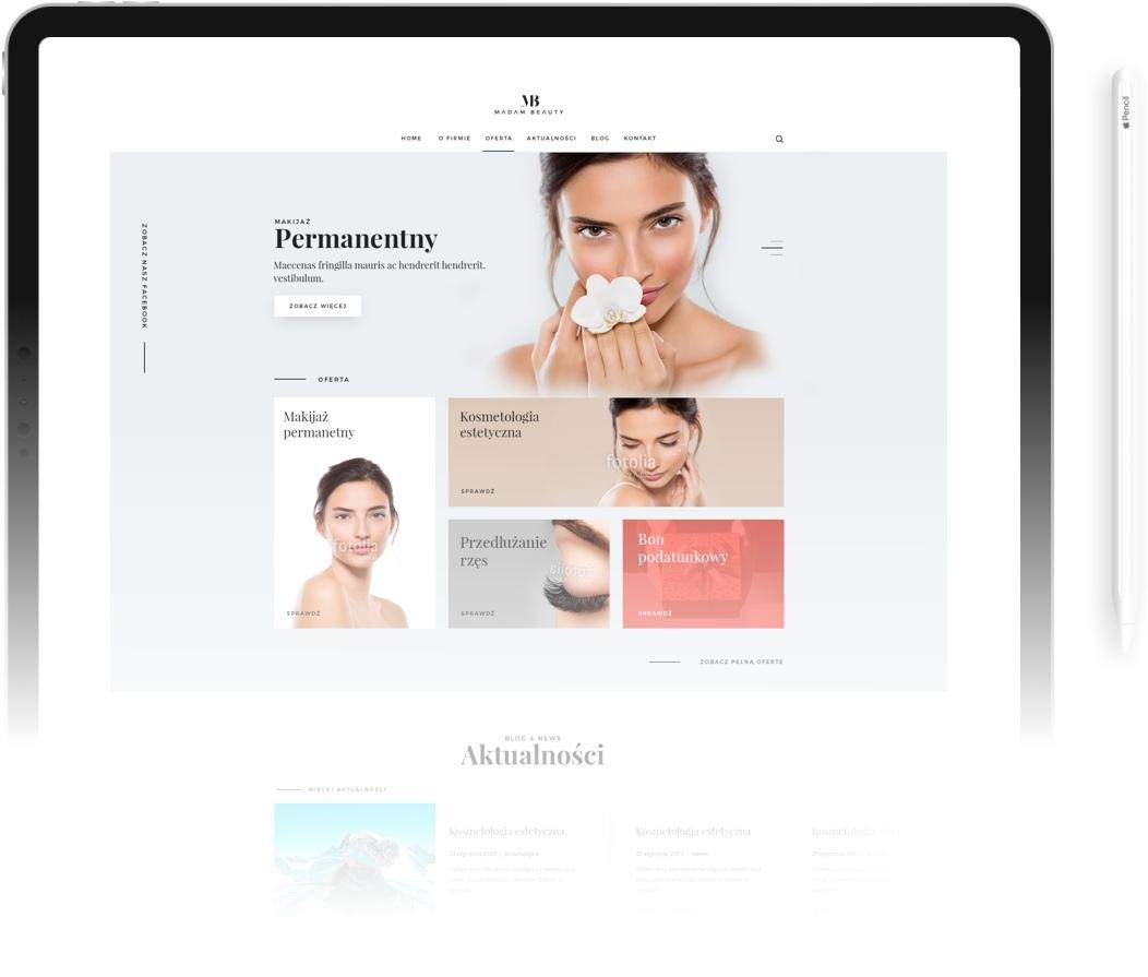 Strona WWW Standard Pro